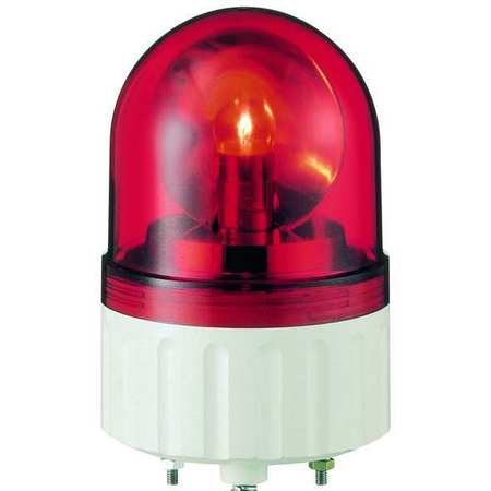 Warning Light, Rotating Mirror LED, Red
