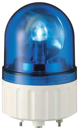 Warning Light, Rotating Mirror LED, Blue