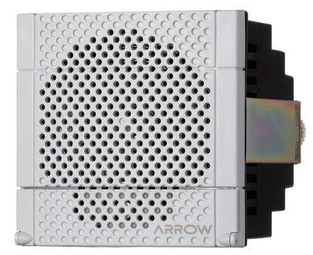 Electronic Alarm, 12/24VAC/DC, 0.280AC, Wht