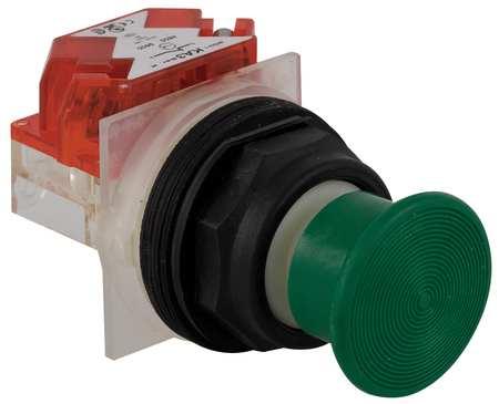 Non-Illuminated Push Button, 30mm, Plastic