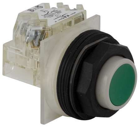 Non-Illuminated Push Button, 30mm, Plastic