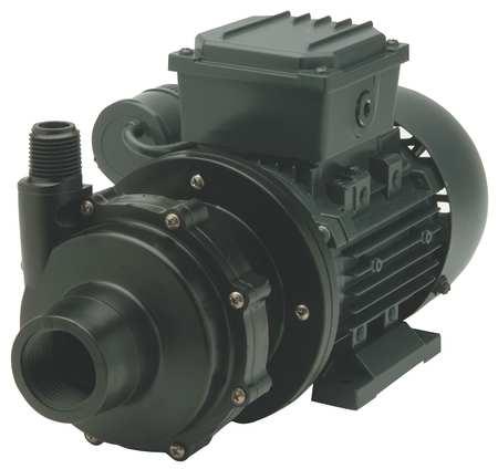 "1/8 HP PVDF Magnetic Drive Pump 115V 1"" FNPT"