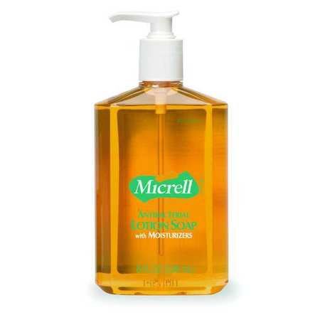 MICRELLAntibacterial Soap, Lotion, 85 oz, PK12