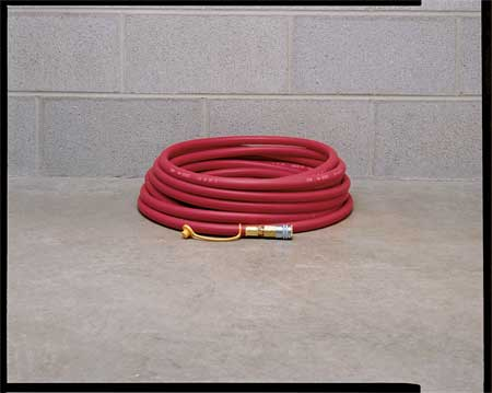 Airline Hose, 50 ft. L, 1/2 In. Dia.