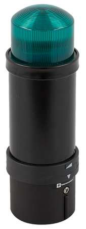 Tower Light, 70mm, Strobe, 24VAC/VDC, Green