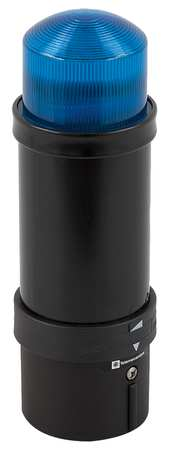 Tower Light, 70mm, Strobe, 24VAC/VDC, Blue
