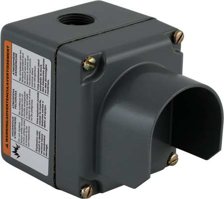 Pushbutton Enclosure, 3.63 in. H