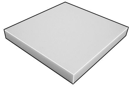 Foam Sheet, Anti-Static Poly, 1/2x24x36 In