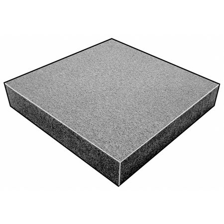 Foam Sheet, 220 Poly, Charcoal, 1x24 x18 In