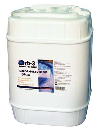 Concentrated Pool Enzymes, 5 gal.