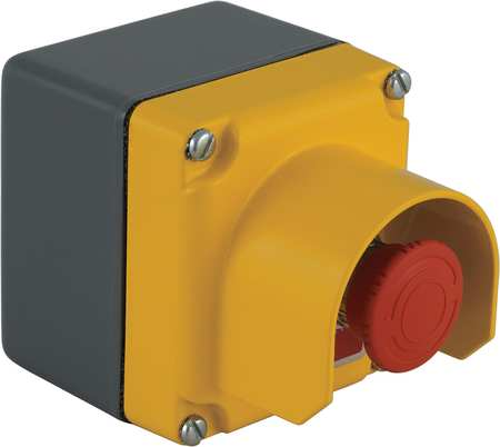 Push Button Control Station, 1NC, 30mm