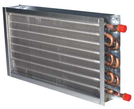 Heating Coil, 600cfm, 3.8gpm, 4x14x14""