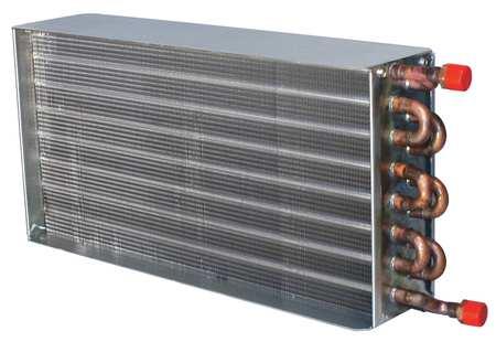 Heat Coil, 1500cfm, 5.0gpm, 6x15-1/8x24-3/8
