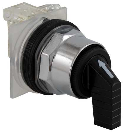 Non-Illum Selector Switch, 4P, 30mm, Chrome