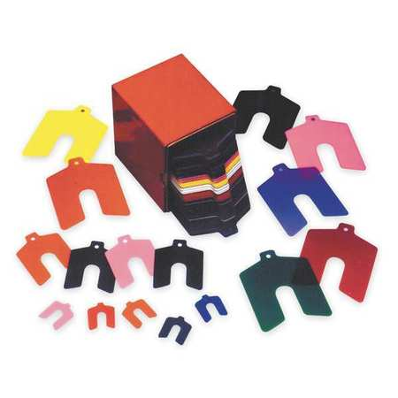Slotted Shim Assortment,  Pk170