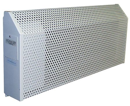 "72"" Electric Baseboard Heater,  Gray,  2000W,  208V"