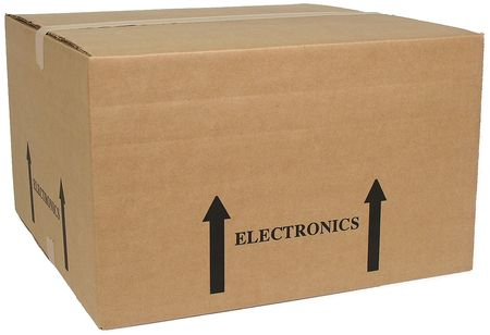 Shipping Carton, Brown, 20 In. L, 20 In. W,  Min. Qty 10