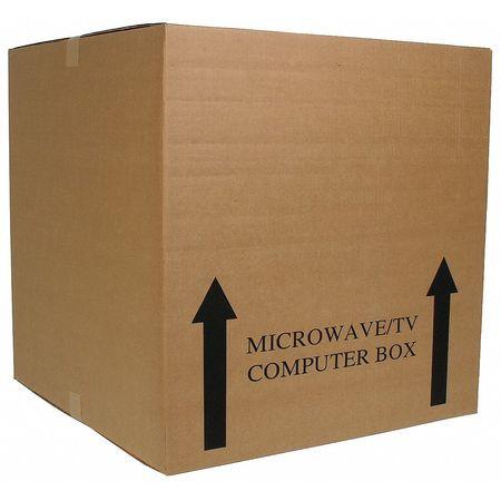 Shipping Carton, Brown, 24 In. L, 24 In. W