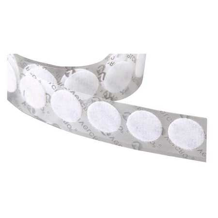 "3/4"" Dia. Loop White Adhesive Dots,  1028 pk."