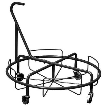 Container Dolly, 150 lb., Fits 21 gal.