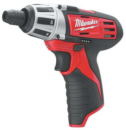 M12 Cordless Screwdriver,  1.6 lb,  6-1/2 In