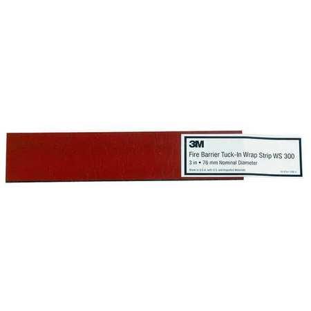 Fire Barrier Wrap Strip, 11-1/2 In L, PK24