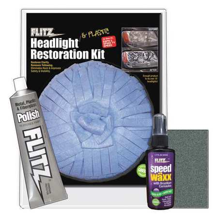 Flitz Premium Polishing Products Headlight Lens Restoration X Large Buff Hr 31501