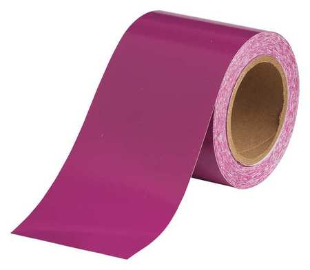 Banding Tape, Purple, 4 In. W