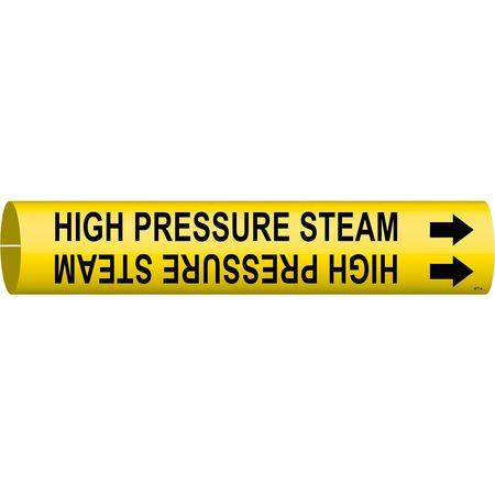 Pipe Mrkr, High Pressure Steam, 3/4to1-3/8