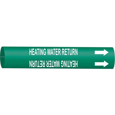 Pipe Mrkr, Heating Water Return, 8 to9-7/8
