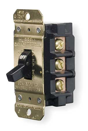 Manual Motor Switch, 40A, 600VAC, 2P