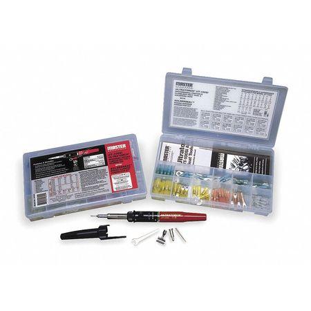 Crimp Connctr Kit, With Crimp Tool, 80pcs.