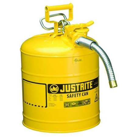 Type II Safety Can, 17-1/2 In. H, Yellow