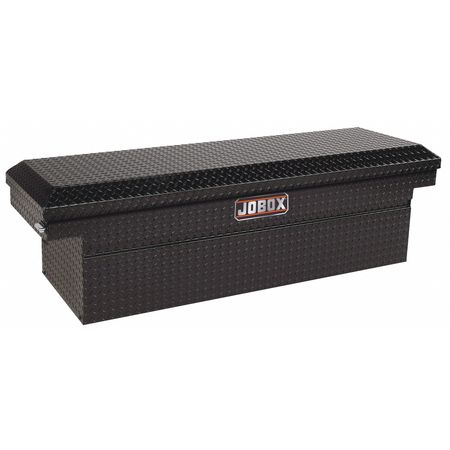 Crossover truck box, Black, Single, 16 ga.