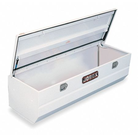 Truck Box Chest, Steel, White, 59-1/8 in. W