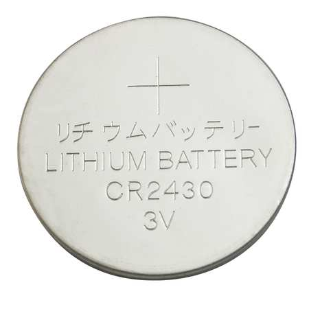 Coin Cell, 2430, Lithium, 3V
