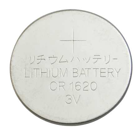Coin Cell, 1620, Lithium, 3V