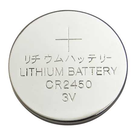 Coin Cell, 2450, Lithium, 3V