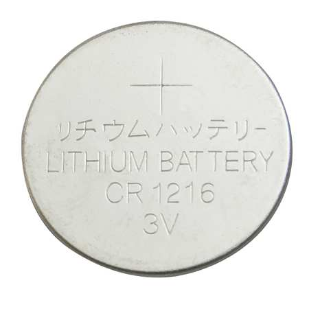 Coin Cell, 1216, Lithium, 3V