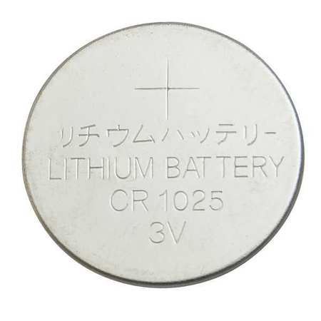 Coin Cell, 1025, Lithium, 3V