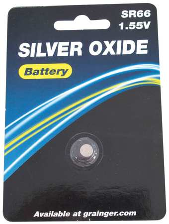 Button Cell Battery, 377, Silver Oxide