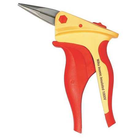 Insulated Needle Nose Plier, 6-1/8 in.