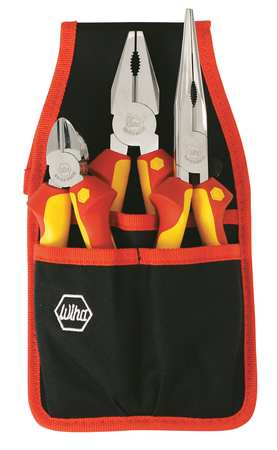 Insulated Plier Set, 3 pc.