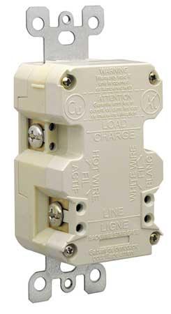 15A Duplex Decorator Receptacle 125VAC 5-15R IV