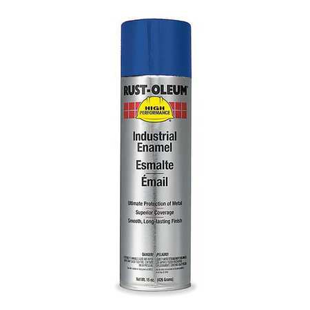 Spray Paint, Safety Blue, 15 oz.