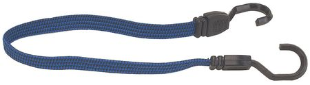 Bungee Cord, Hook, 24 In.L, 3/4 In.D, PK6