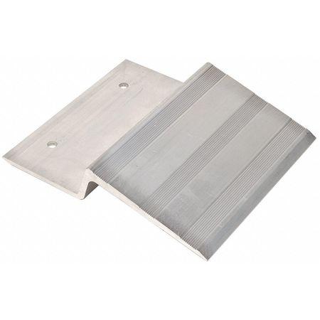 Alum Ramp Plate, Cap750Lb, Checker Plate