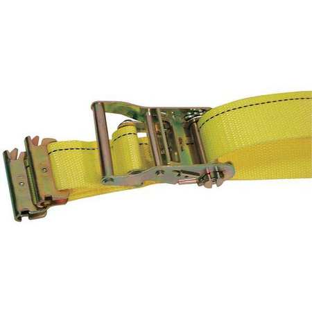 Logistic Ratchet Strap, 20ft x 2In, PK5