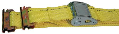 Logistic Cam Buckle Strap, 20ftx2In, PK7