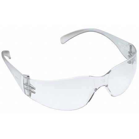 3M Clear Safety Glasses,  Wraparound